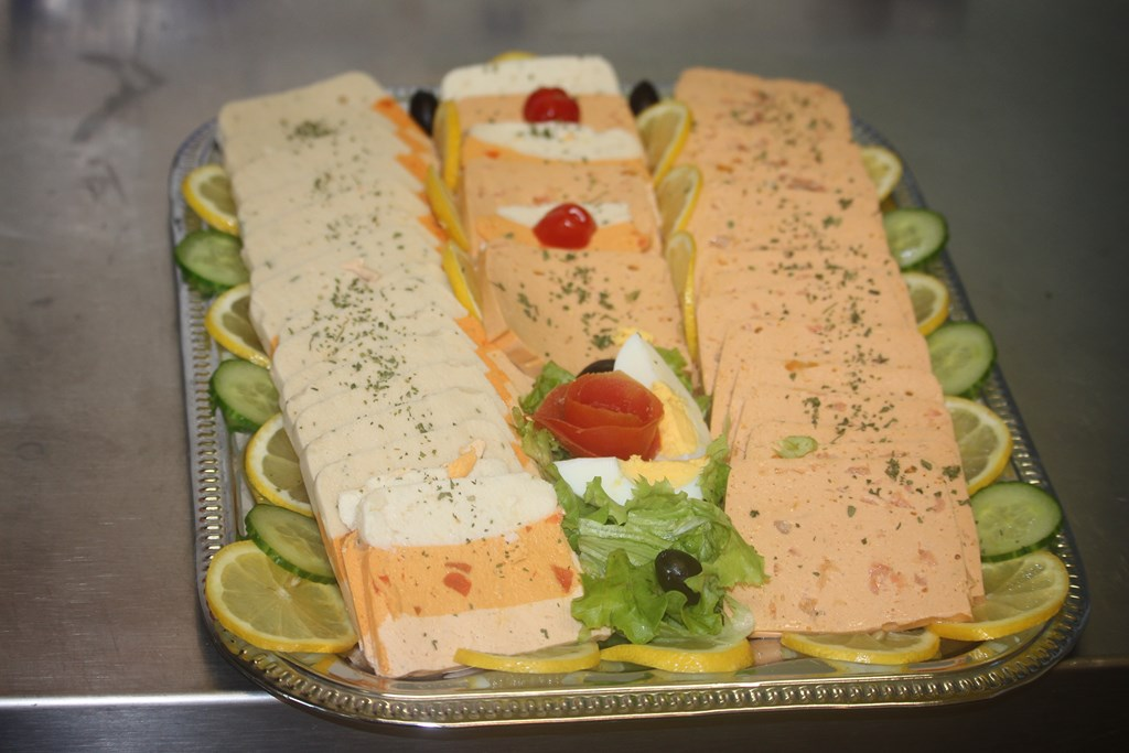 Buffet froid terrine de poisson